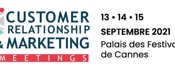 Custplace vous donne RDV aux CRM Meetings du 13 au 15 septembre à Cannes