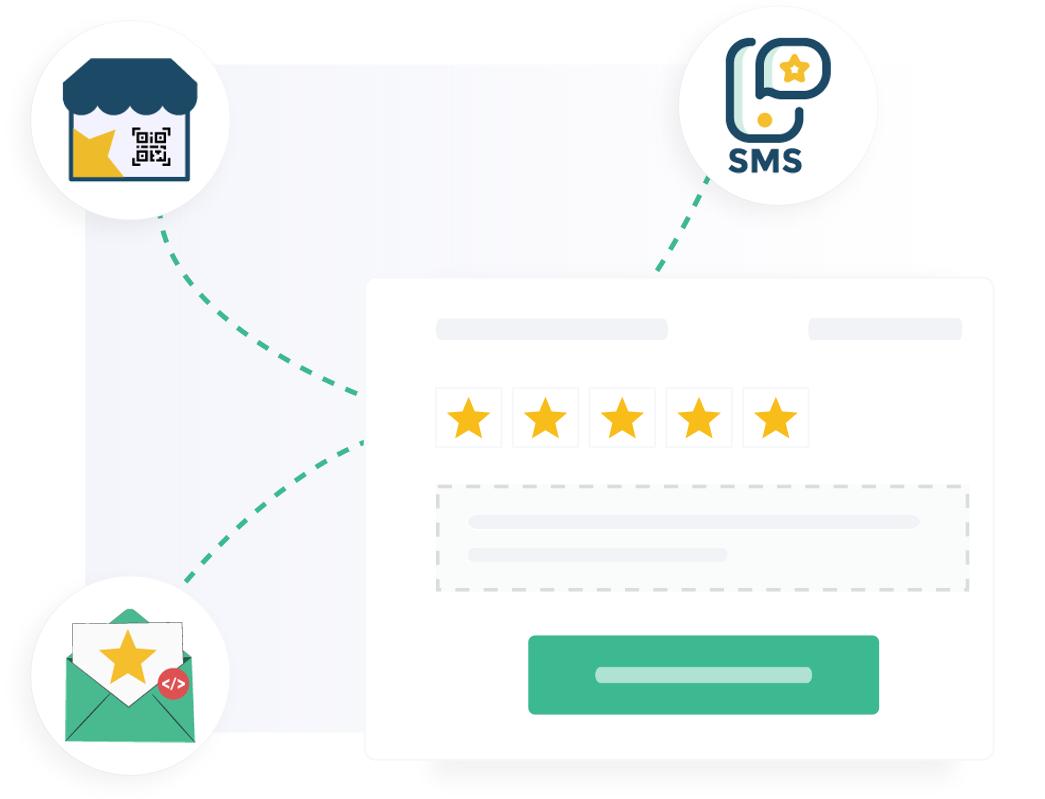 Par email, SMS ou in situ, combinez nos solutions multicanal